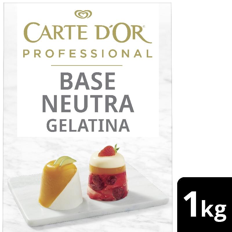 Carte D'Or Base Neutra Gelatina - Carte D'Or Professional ti offre una gamma completa di Basi Neutre per coprire tutte le esigenze di pasticceria