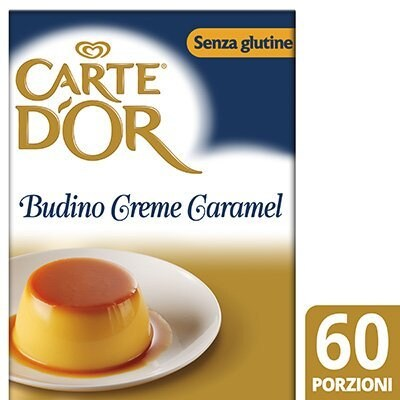 Carte d'Or preparato per Budino Creme Caramel 800 Gr Senza Glutine -