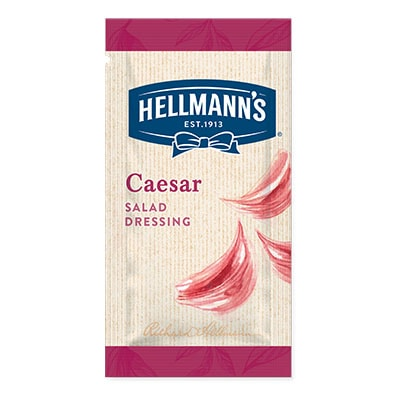 Hellmann's caesar monodose - I Salad Dressing Hellmann's in monoporzione sono la soluzione perfetta per insaporire e rendere trendy tutte le tue insalate.