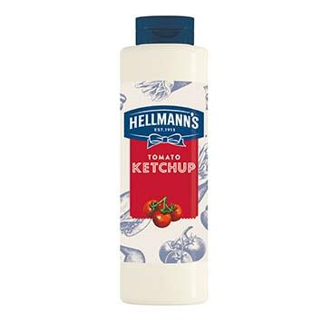 Hellmann's tomato ketchup 856ml - La gamma Street Food unisce la qualità delle salse Hellmann's alla versatilità del formato per foodservice.