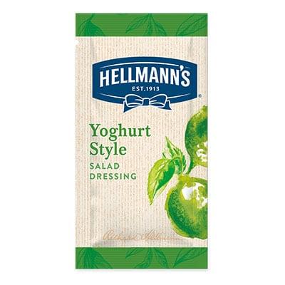 Hellmann's yoghurt style monodose - I Salad Dressing Hellmann's in monoporzione sono la soluzione perfetta per insaporire e rendere trendy tutte le tue insalate.