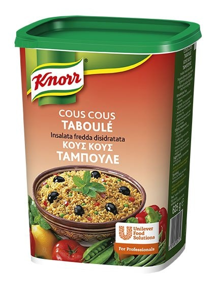 Knorr Cous Cous Taboulé Insalata fredda disidratata 630 Gr -