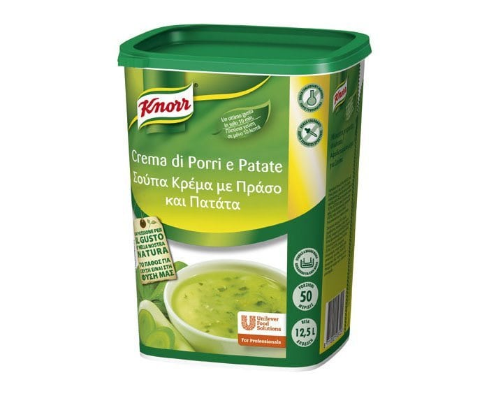 Knorr Crema di Porri e Patate 970 Gr -