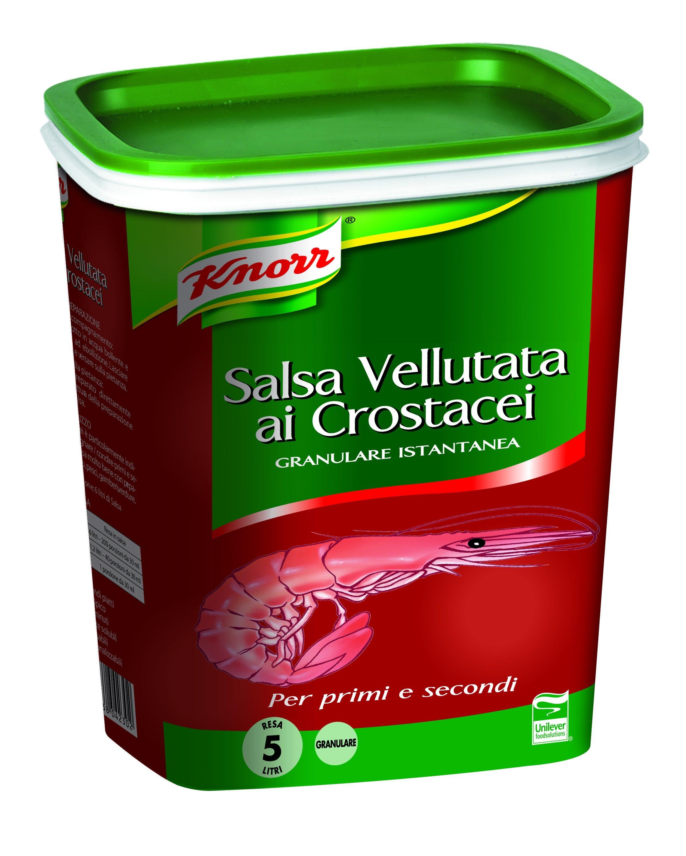 Knorr Salsa Vellutata ai Crostacei Granulare Istantanea 1 Kg -