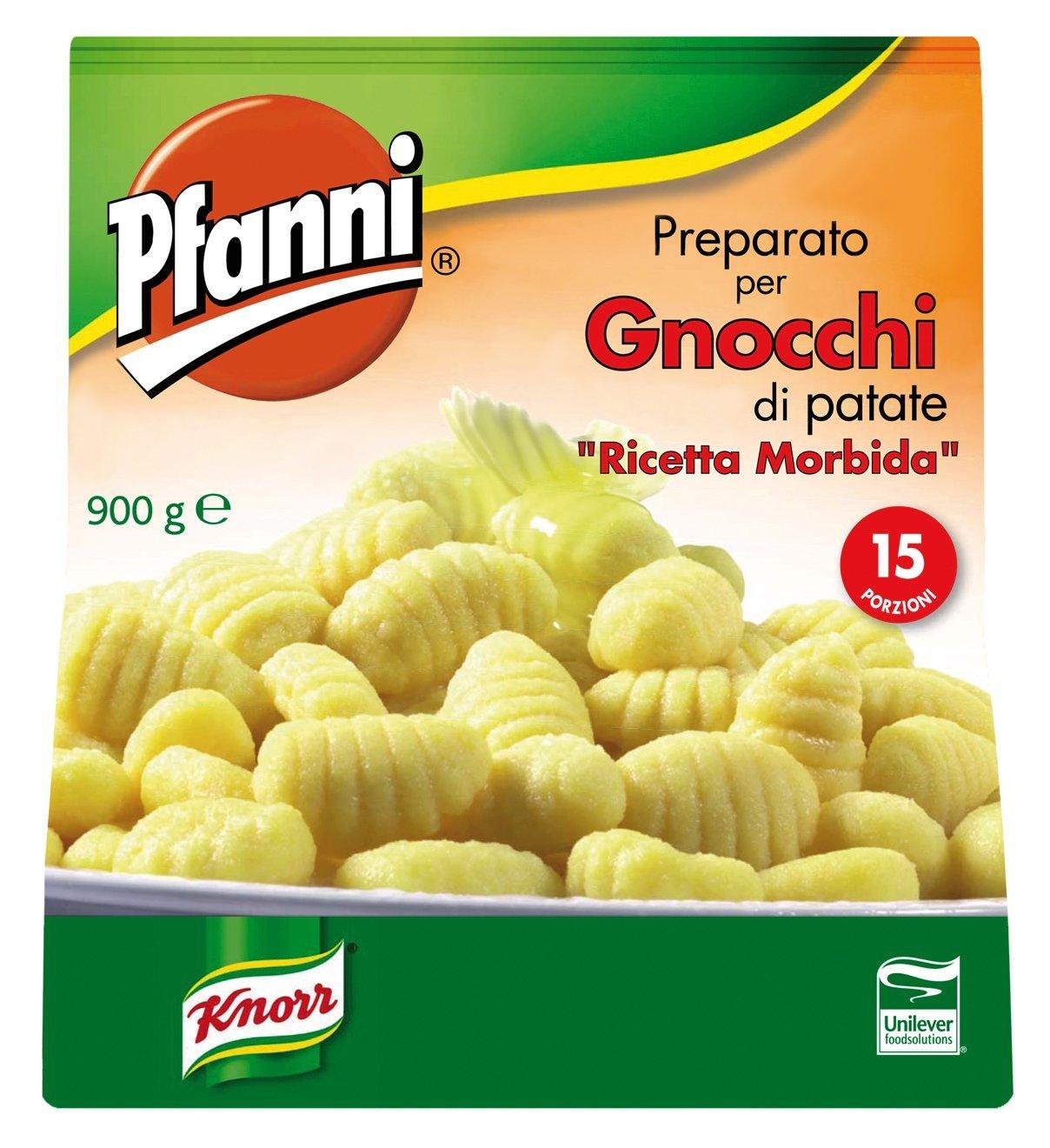 Pfanni Preparato per Gnocchi di patate Ricetta morbida 900 Gr -